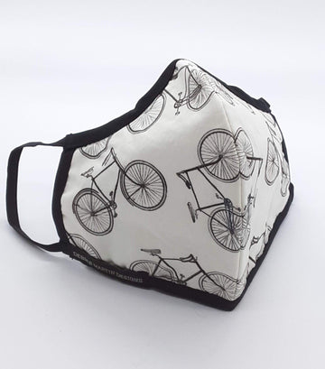 Debbie Martin Designs Face Mask - Bicycles