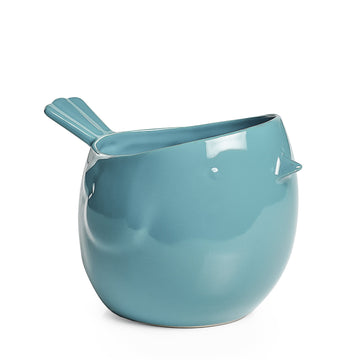 Ceramic Bird Planter Teal