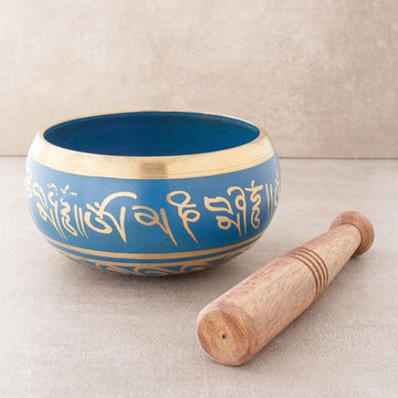 Small Blue Tibetan Singing Bowl