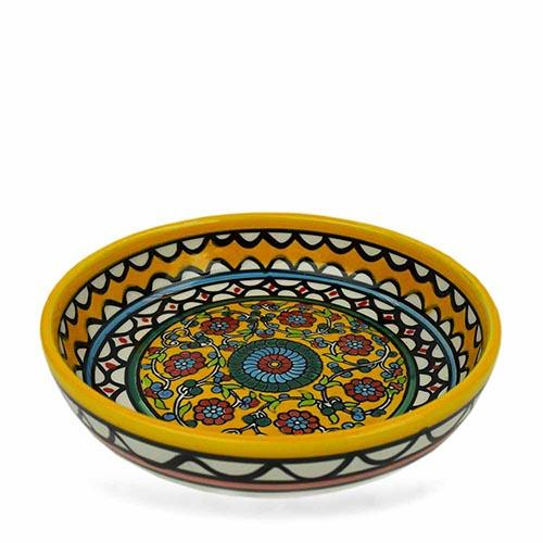 Large Yellow West Bank Bowl