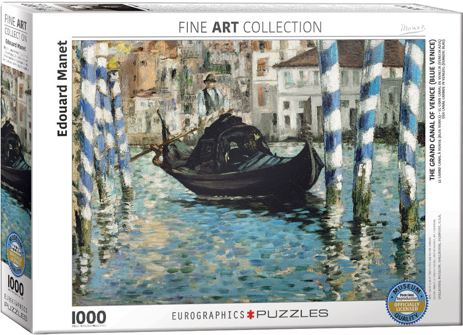 Manet's The Grand Canal of Venice Puzzle