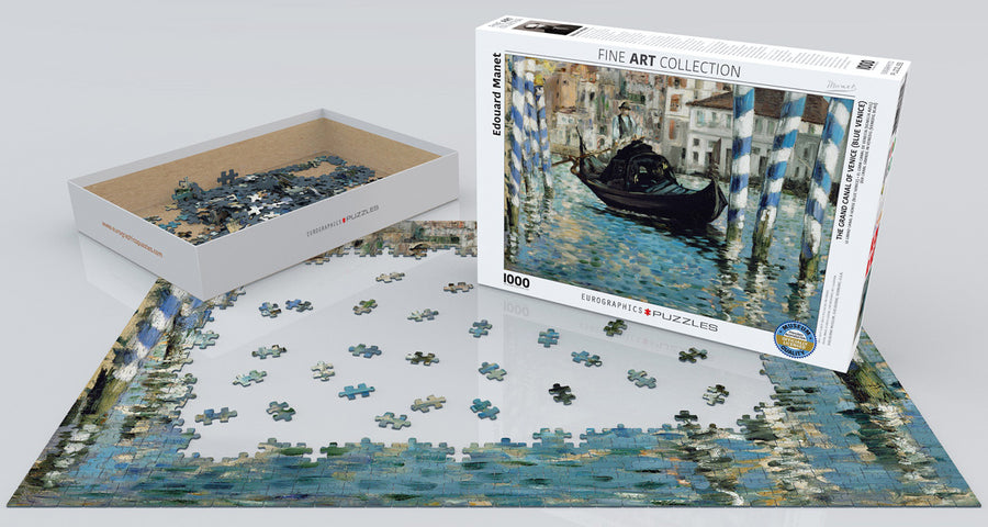 manet's grand canal of venice with box