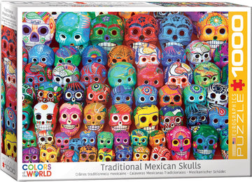 Traditional Mexican Skulls