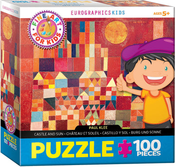 Klee Castle and Sun Kids Puzzle