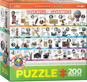 Inventors and Their Inventions Puzzle