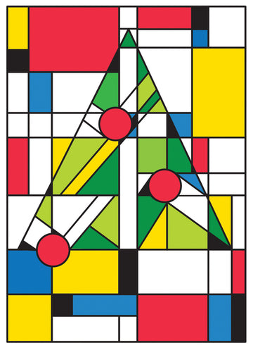 Mondrian Christmas Boxed Cards