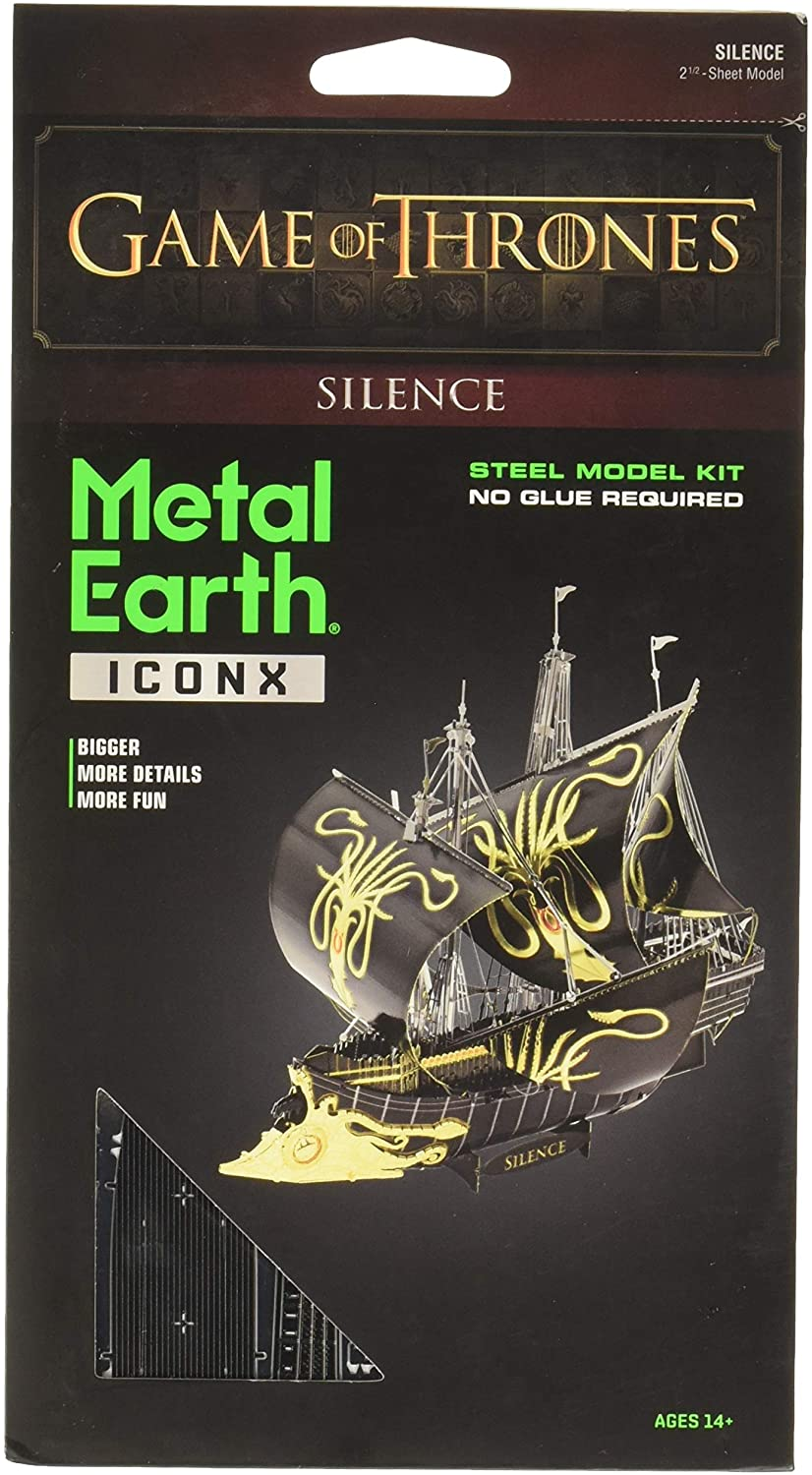 METAL EARTH Game of Thrones Silence 3D Model