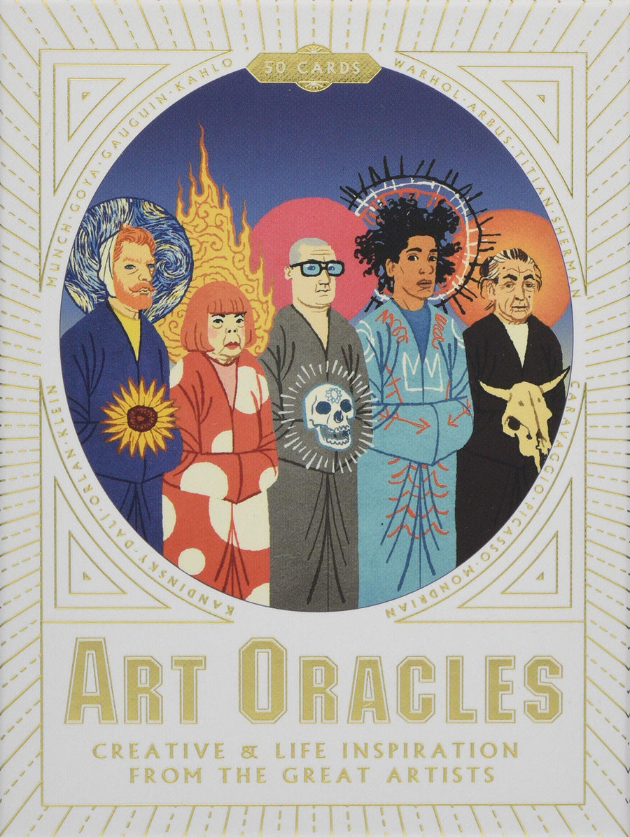 Art Oracles Creative & Life Inspiration from the Great Artists