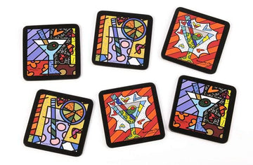 Britto 6pc. Coaster Set