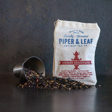 Piper & Leaf Cherry Christmas Loose Tea