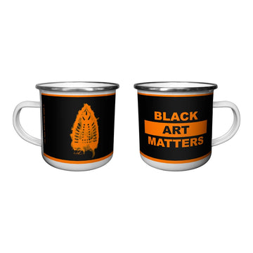Willie Cole Black Art Matters Camp Mug