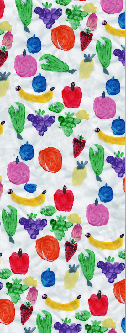 Hazel & Friends Fruits Scarf