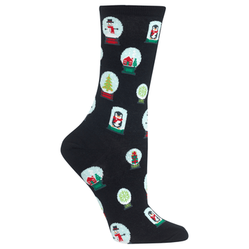 Women's Socks Snowglobes