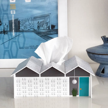 Folded Plate House Tissue Cover