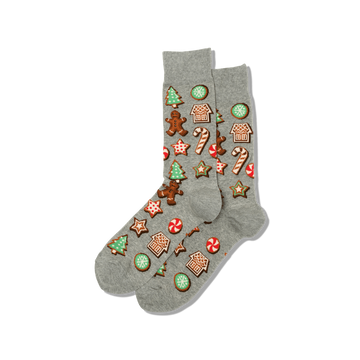 Men's Socks Gingerbread