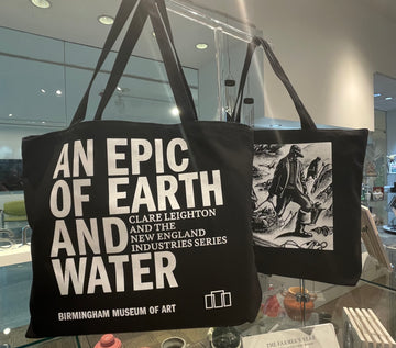 An Epic of Earth and Water Canvas Tote