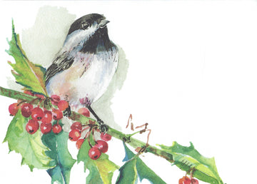 Mr. Chickadee Blank Notecards