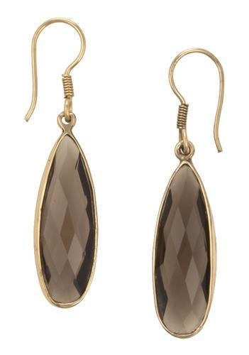 Alchemia Smokey Quartz Earrings