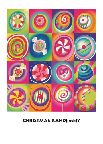 Christmas Kand(insk)y Boxed Cards