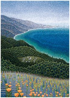 Big Sur, Spring Thank You Card