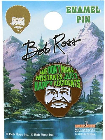 Bob Ross Happy Trees Pin
