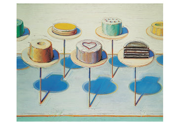 Thiebaud Cake Window Notecard