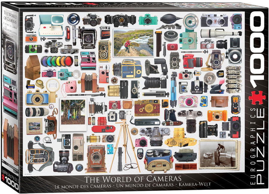 The World Of Cameras Puzzle