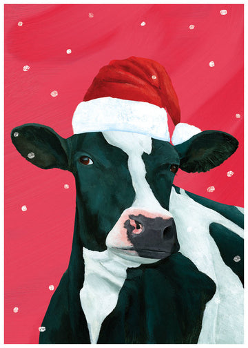 A Cow Christmas Boxed Holiday Cards