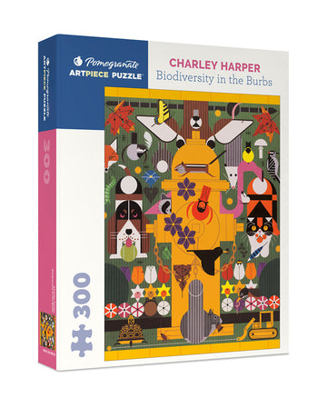 Charley Harper: Biodiversity in the Burbs Jigsaw Puzzle