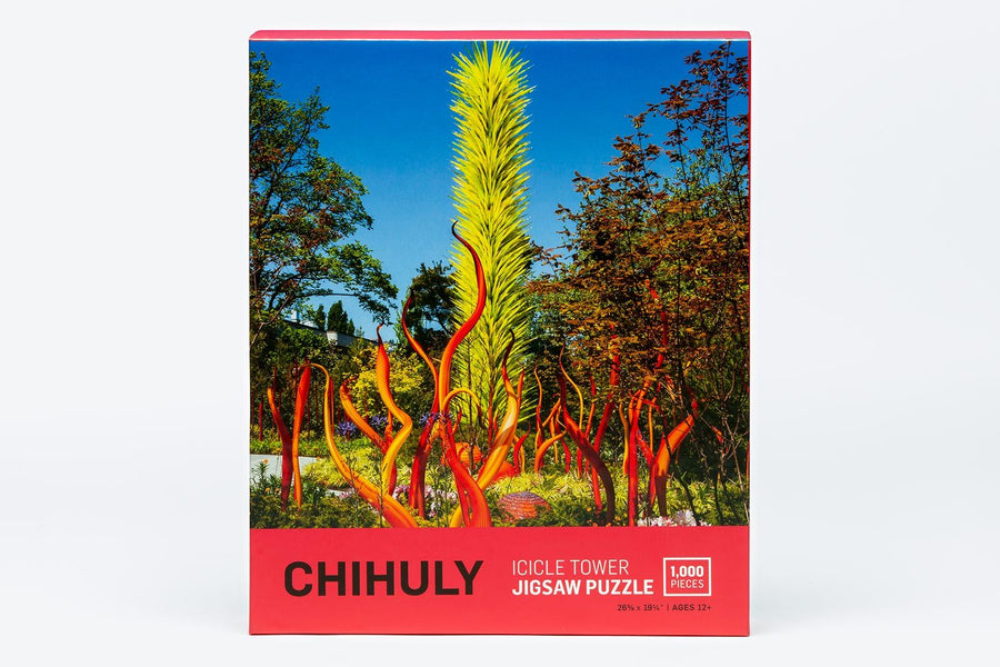 Chihuly Icicle Tower 1000 Piece Puzzle