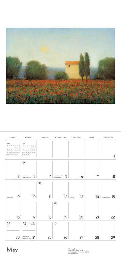 Mary Sipp Green 2021 Wall Calendar