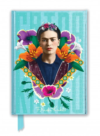 Frida Kahlo Blue Foiled Journal