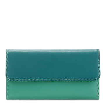 mywalit Tri-fold Zip Wallet in Mint