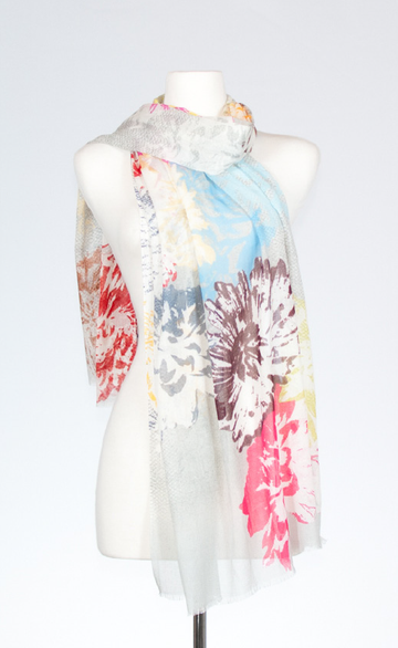 Bloom Cotton Scarf