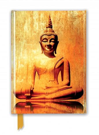 Golden Buddha Foiled Journal
