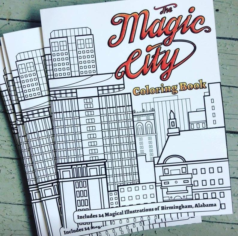 Magic City Coloring Book