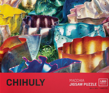 Chihuly Macchia 1000 Piece Puzzle
