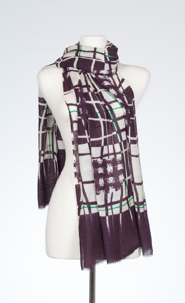 Abstract Window Scarf