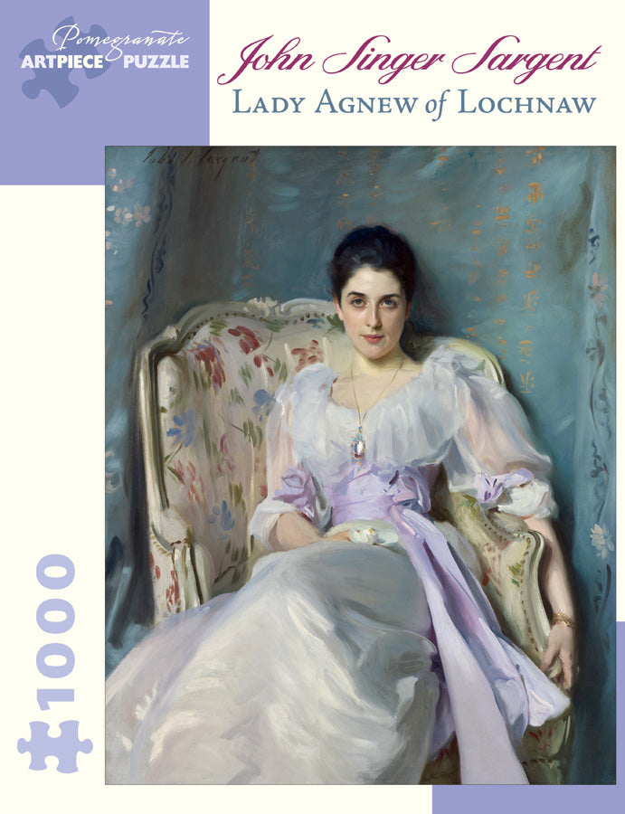 John Singer Sargent: Lady Agnew of Lochnaw Puzzle