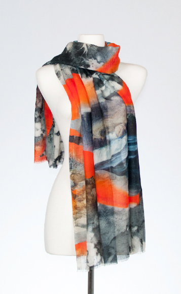 Tempest Merino and Silk Scarf