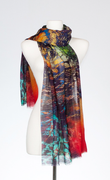 Kimodo Silk and Merino Scarf