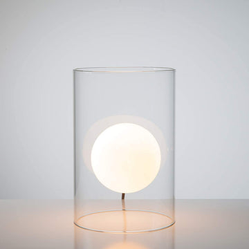 Floating Orb Table Lamp - Short