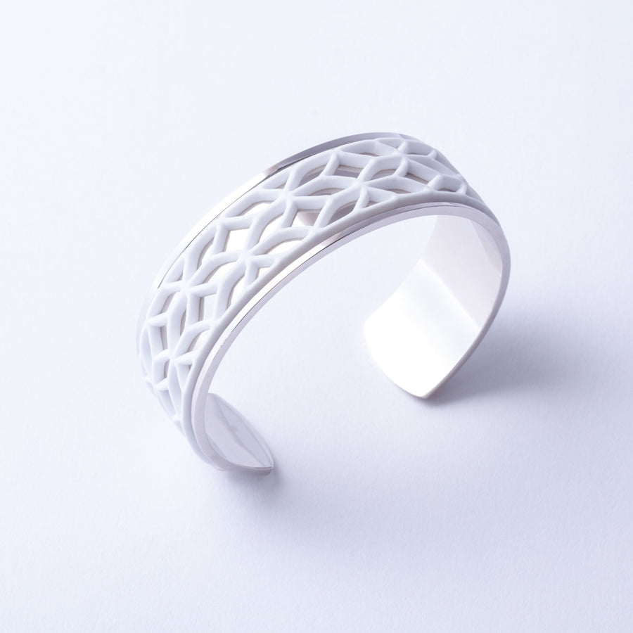 Batucada Lace Silver 3-Way Cuff