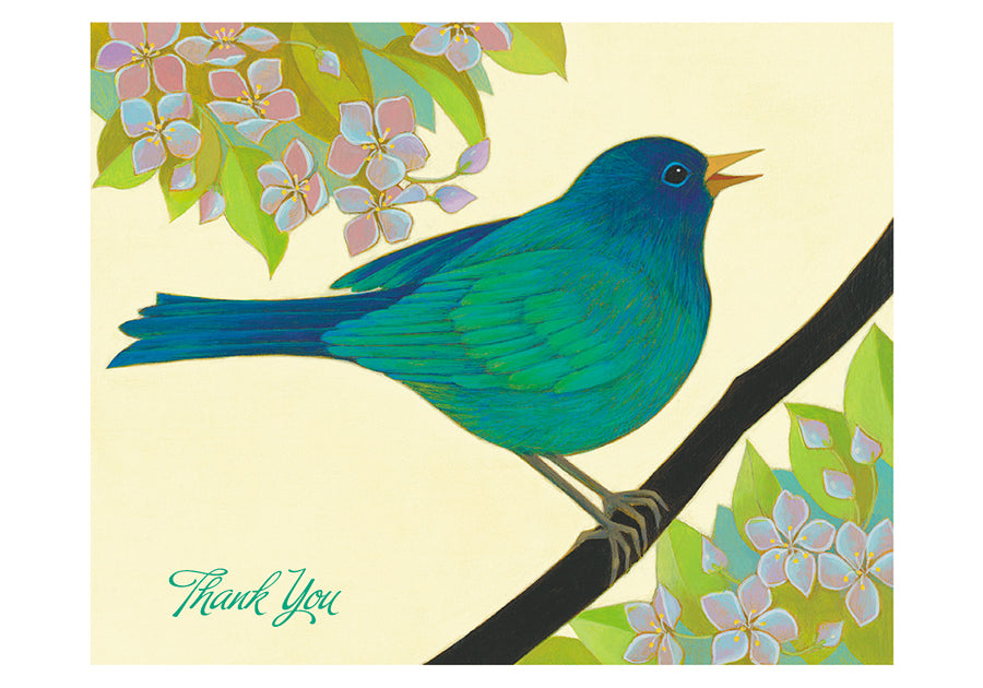 The Blue Bird of Happiness Boxed Thank You Notes