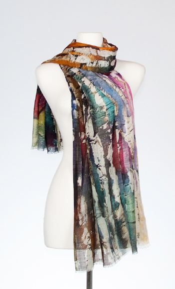 Aspen Merino and Silk Scarf