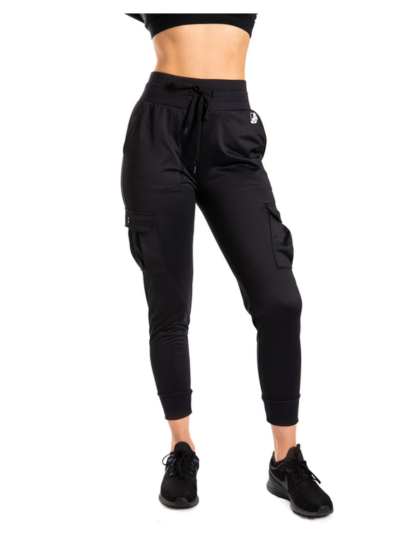 Emma Ultra-Soft Joggers - Black