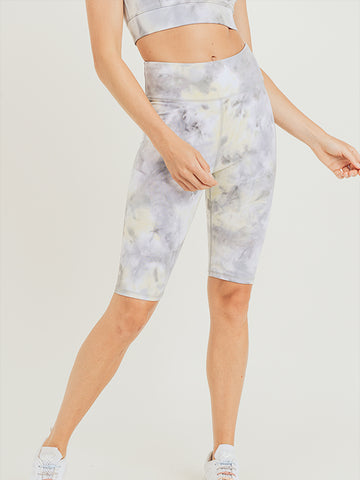 Nova Tie-Dye Bermuda Leggings - MULTI