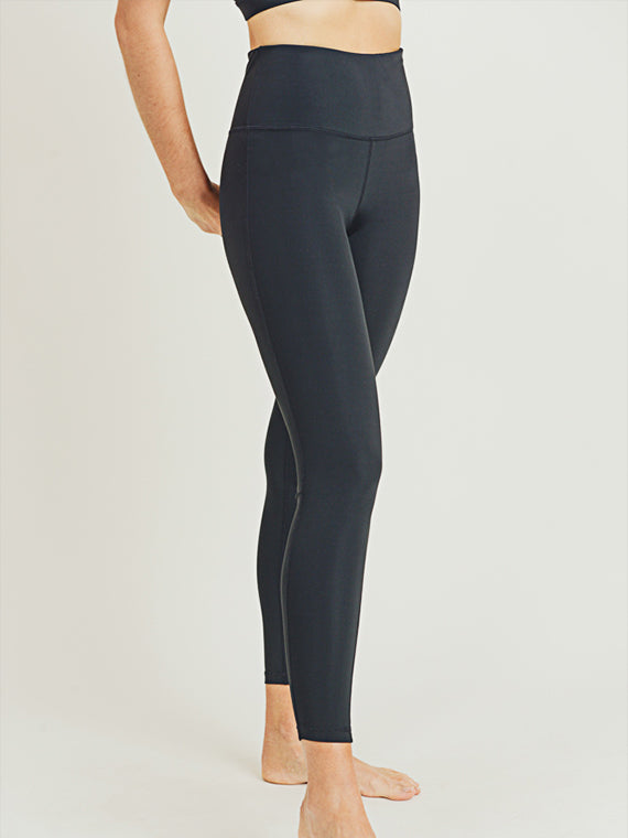 Nova Essential Leggings - BLACK