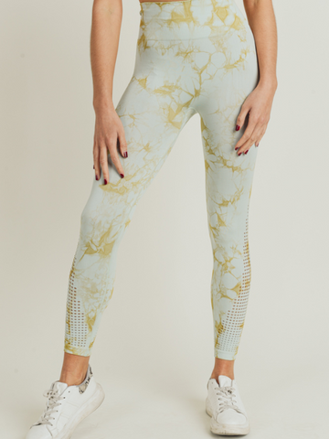Luna Leggings - LIME
