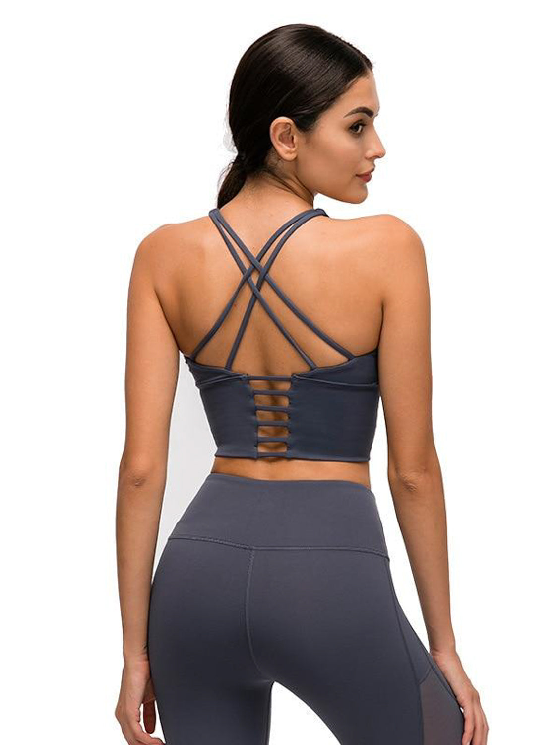 MOVI Sculpt+ Sports Crop - Grey
